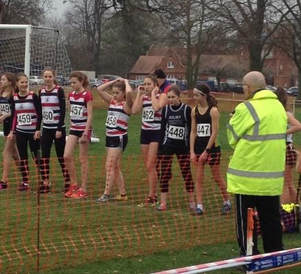 girls at start line